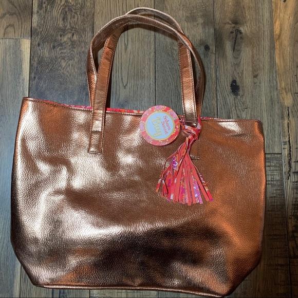 Sahara Sunset Handbags - Golden tote